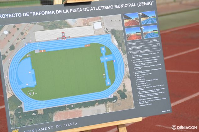 Image: New athletic track project