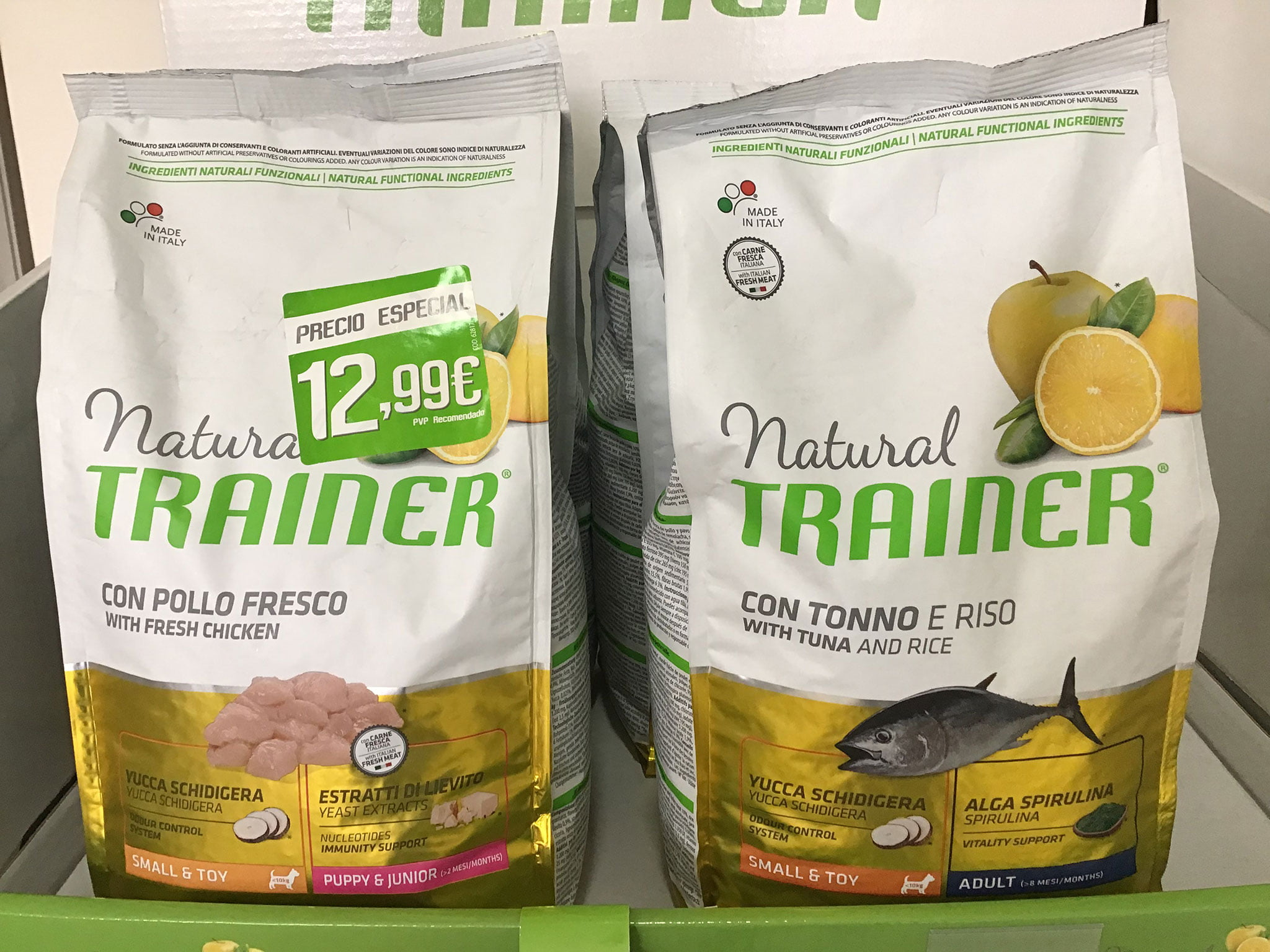 Try Natural Trainer natural feed for dogs and cats in Dénia for free - Santi Mas-Pet Services