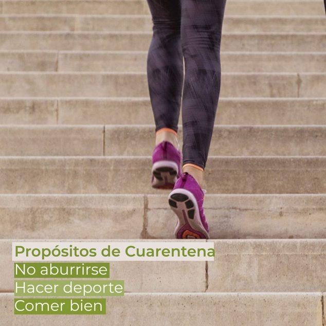 Imagen: Publicación de Clínica Estética Castelblanque, para recordarte buenos hábitos