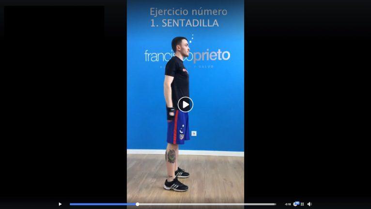 Francisco Prieto Studio te ayuda colgando entrenamientos para cuidarte durante la cuarentena