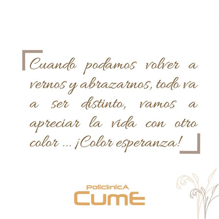 CUME Polyclinic Facebook Post
