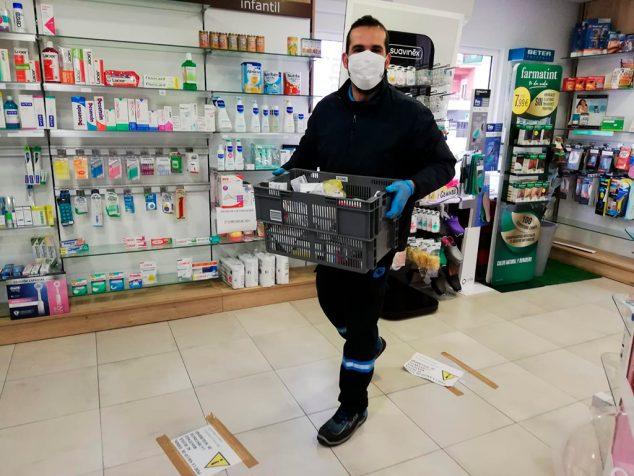 Imagen: repartidores-farmaceuticos-coronavirus
