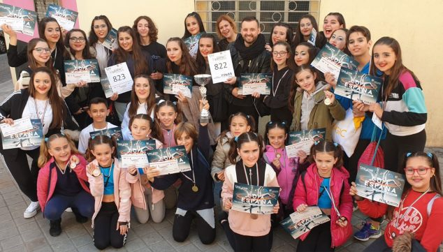 Image: Very positive results of the Dénia Dance Academy by Miguel Ángel Bolo of the Dénia Sports Center in the Spanish Cup