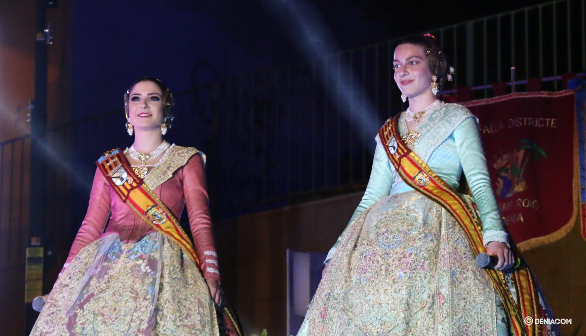 Safir Malonda y Martina Gimeno en la Crida 2020