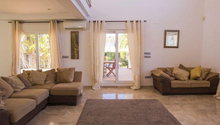Living room of a holiday villa in Dénia - Deniasol