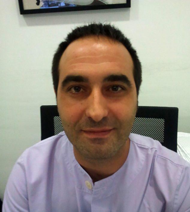 Afbeelding: Salvà in het Dénia-ziekenhuis