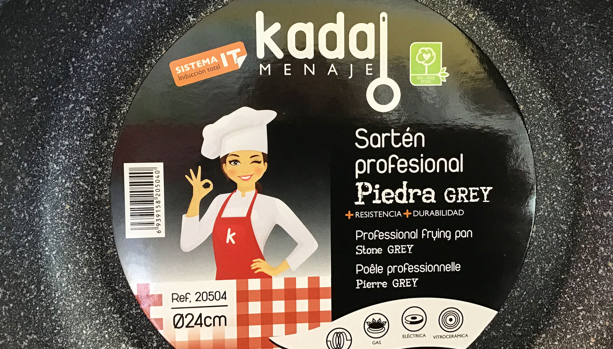 Sartén profesional de la marca Kadal Menaje en Coloma 2 Ferreteros