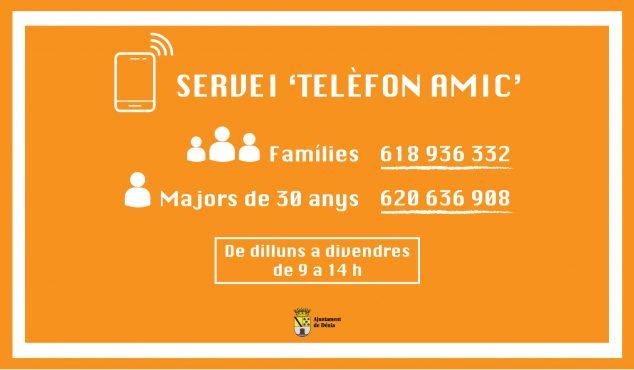 Image: Telèfon Amic