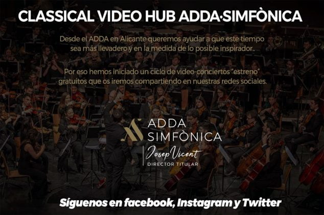 Image: ADDA Symphonic information poster