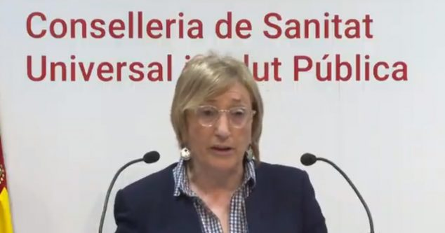 Image: Ana Barceló, Minister of Health