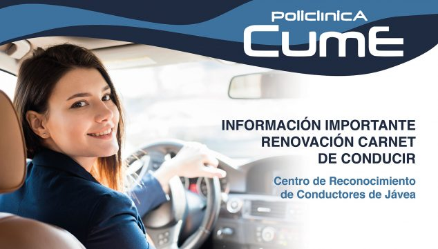 Image: Informative image of the Jávea Driver Recognition Center