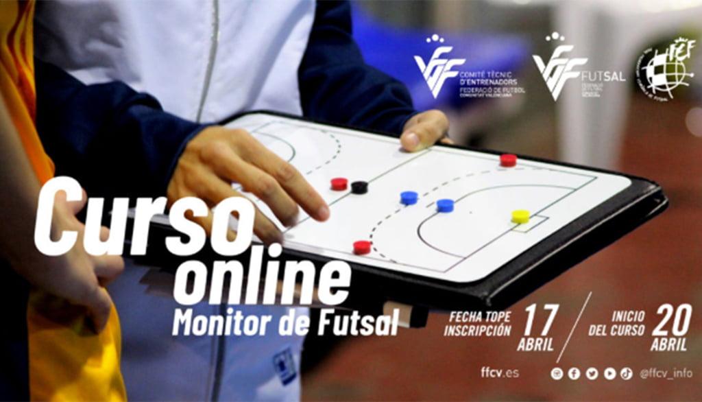 Cartel Curso Entrenador Fútbol Sala