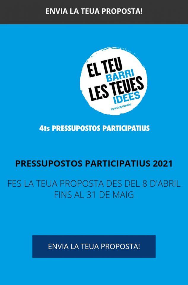 Imatge: Cartell pressupostos participatius 2021