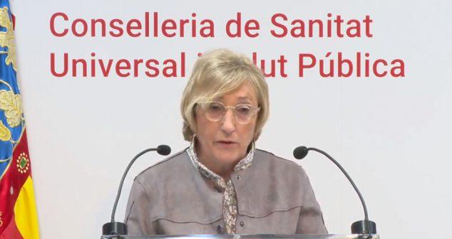Bild: Gesundheitsministerin Ana Barceló