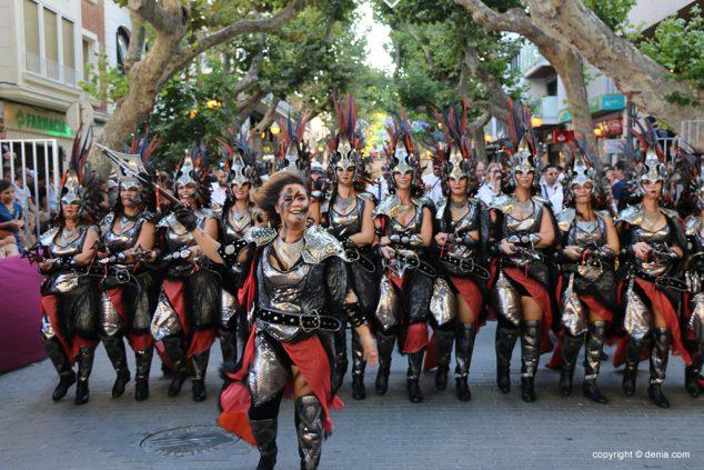 Image: Moors and Christians gala parade 2019