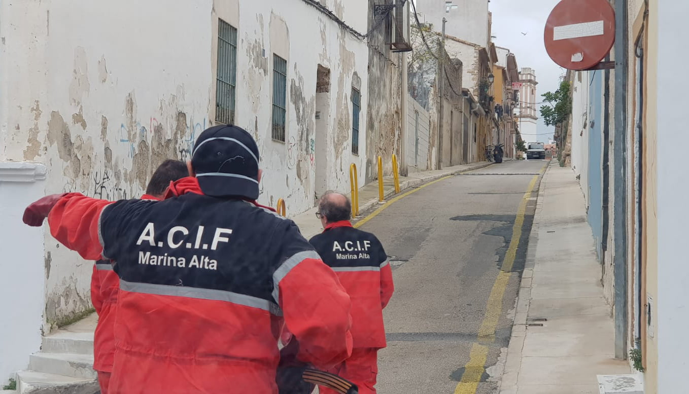 Disinfection in Les Roques