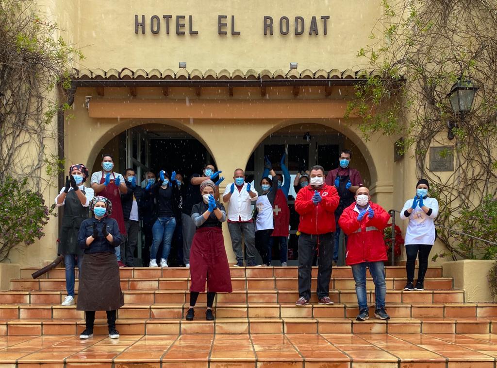 Donación Hotel El Rodat