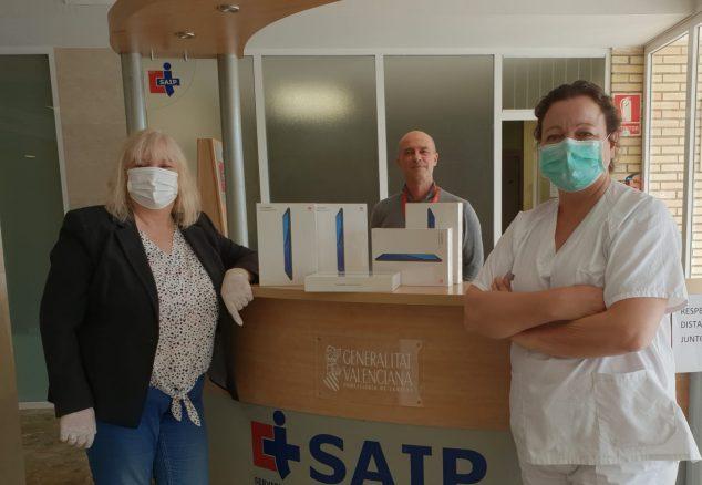 Image: Donations to Hospital La Pedrera