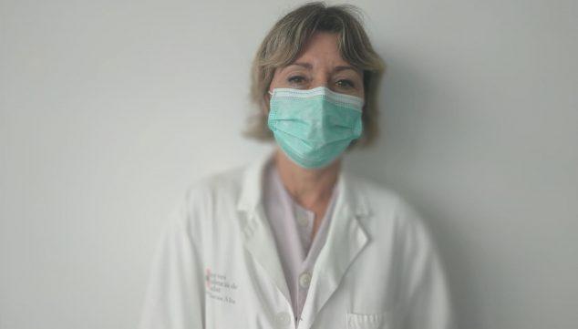 Imagen: Elena Ortega, matrona del Departamento de Salud de Dénia
