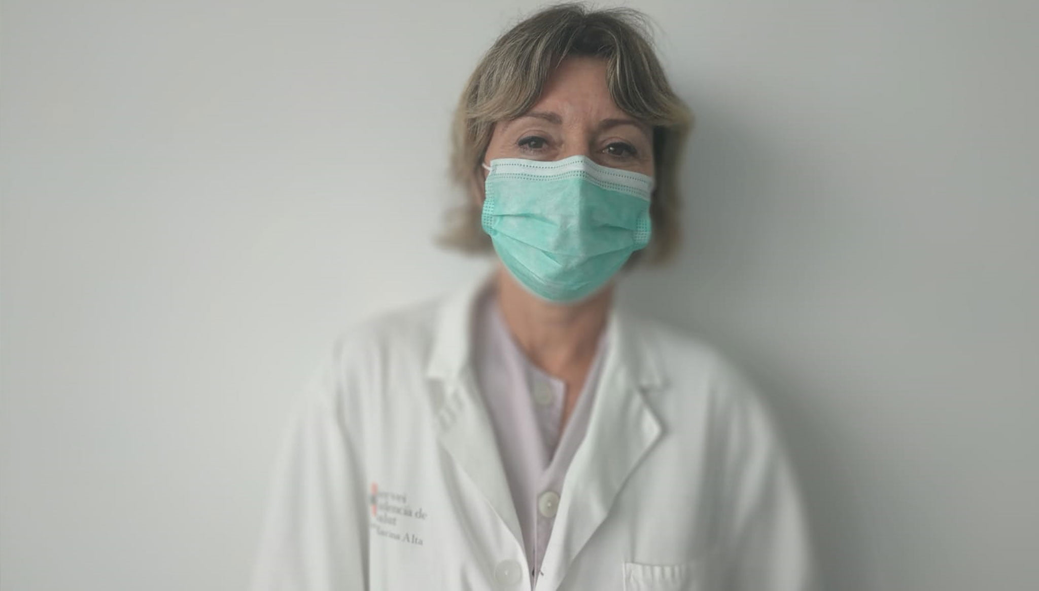 Elena Ortega, midwife of the Dénia Health Department