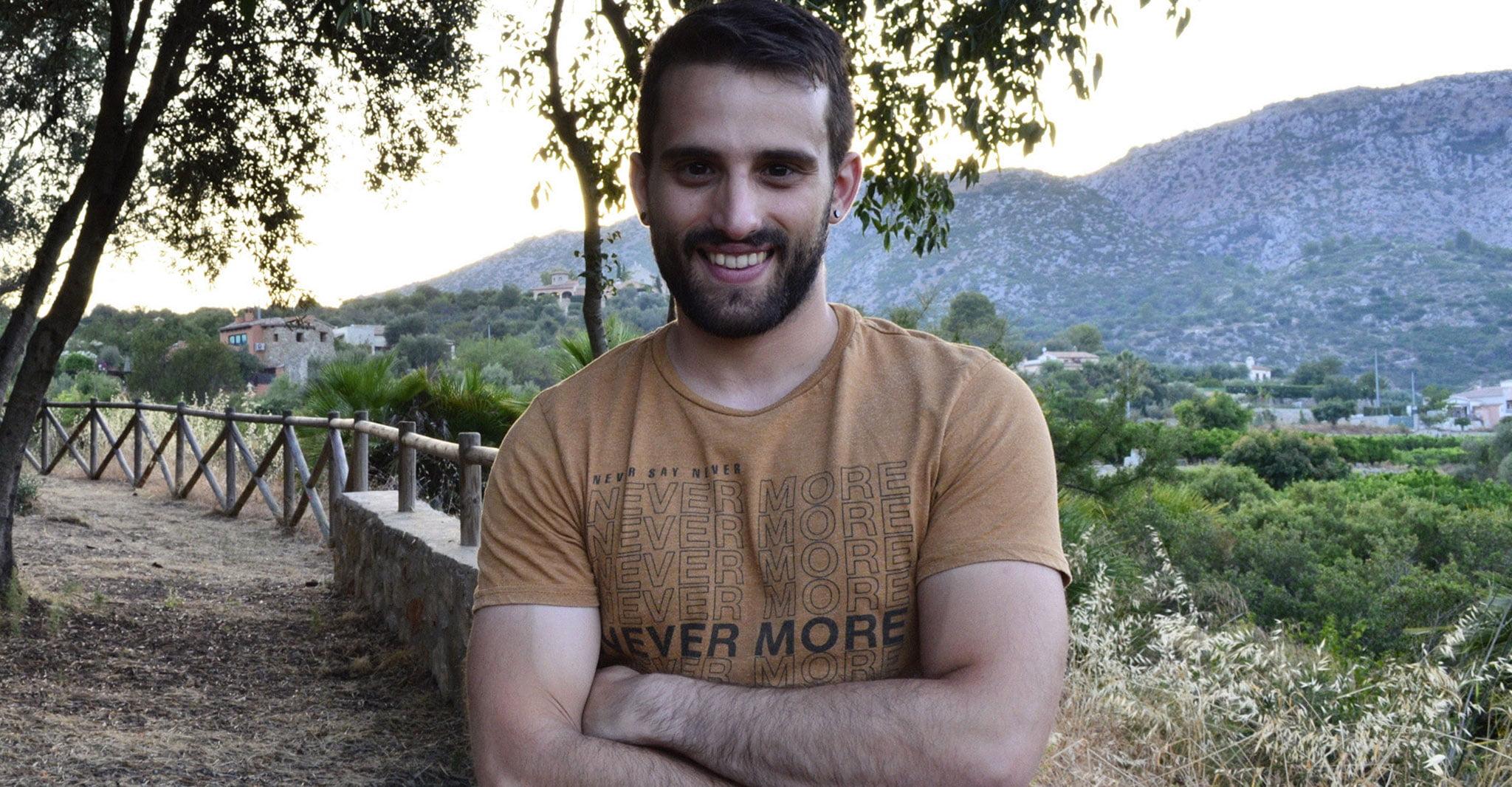 El profesor y escritor de Beniarbeig, Javier Martínez