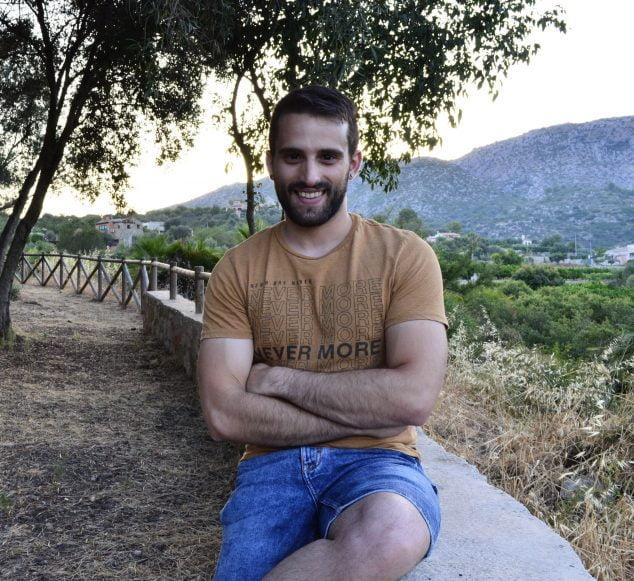 Image: Javier Martínez in an image taken last summer