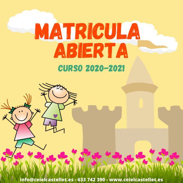 Imagen: Matrícula abierta en CEI El Castellet