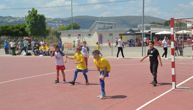 Imagem: Jogo da Liga Local Benjamines Dénia