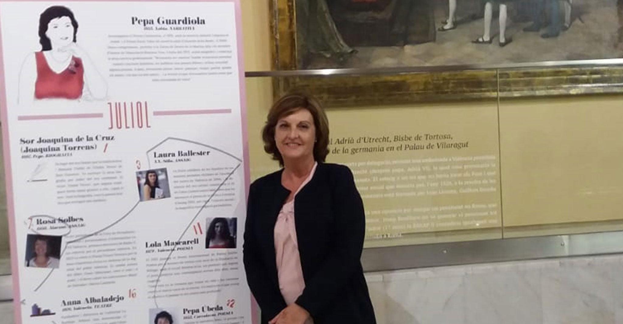 La conocida autora de Xàbia Pepa Guardiola
