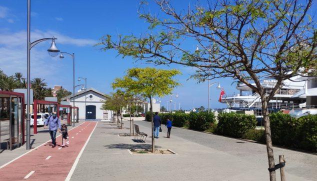 Imagen: Primeros paseos por el puerto