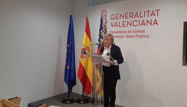Imagen: Rueda de prensa de Ana Barceló
