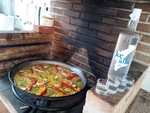 Image: Salvador Cardona Tent - mixed paella