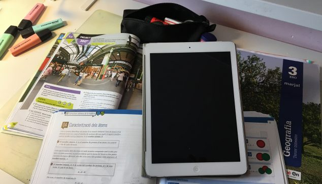 Image: Student tablet