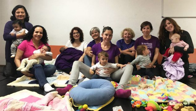 Image: Breastfeeding workshop of Grup Nodrissa during the past Donut Day, March 8