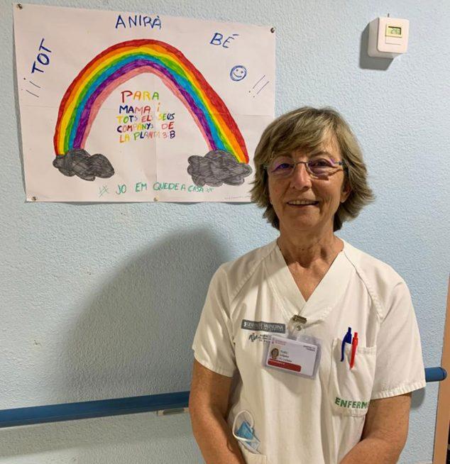 Imagen: Toñi López, enfermera del HACLE de La Pedrera