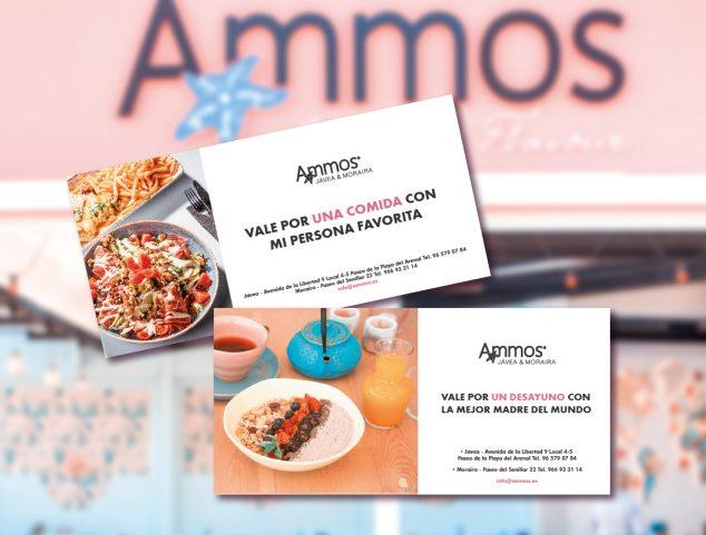 Imagen: Bonos regalo – Restaurante Ammos