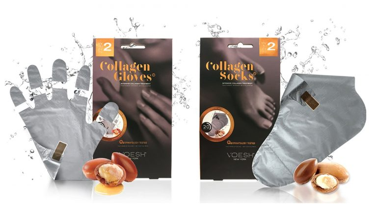 Collagen socks y collagen gloves - Doré
