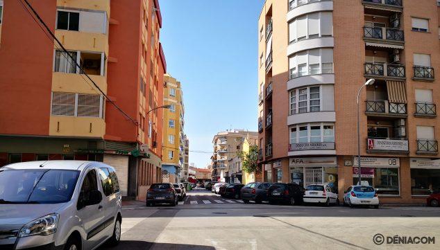 Image: Crossing of Sertorio street with Avenida Marquesado