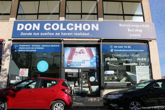 Imagen: Vista exterior de Don Colchón en Dénia