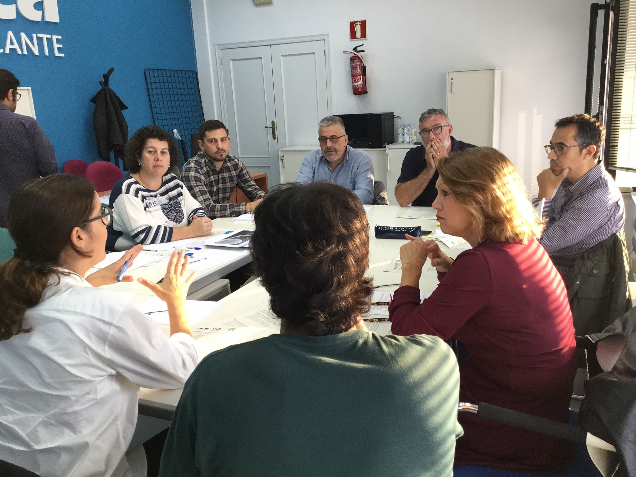 Discussion group in October 2018