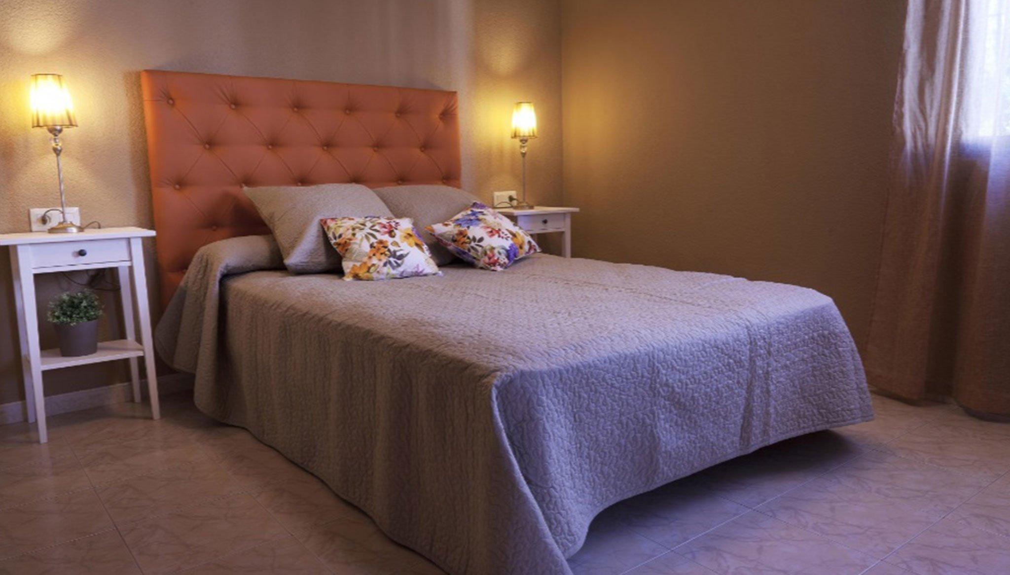 Una de las habitaciones en un chalet de alquiler vacacional en Dénia – Deniasol