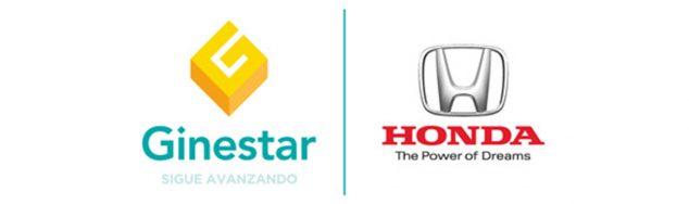 Imagen: Logotipo de Honda Ginestar Dénia