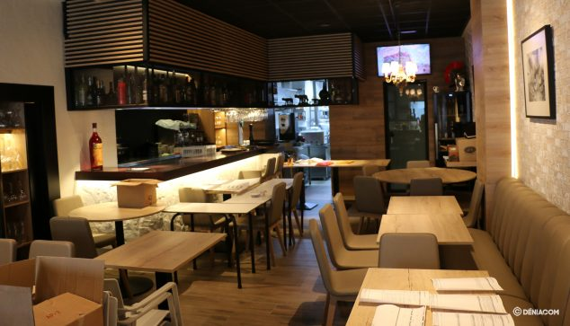 Bild: Innenraum des Restaurants nach der Renovierung