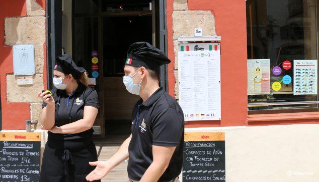 Bild: La Vecchia Roma muss seine Terrasse schließen