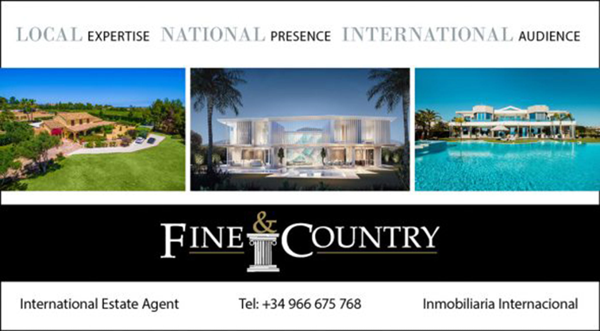 Logotipo Fine & Country Costa Blanca Norte