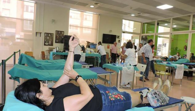 Image: Marathon of blood donations in Dénia