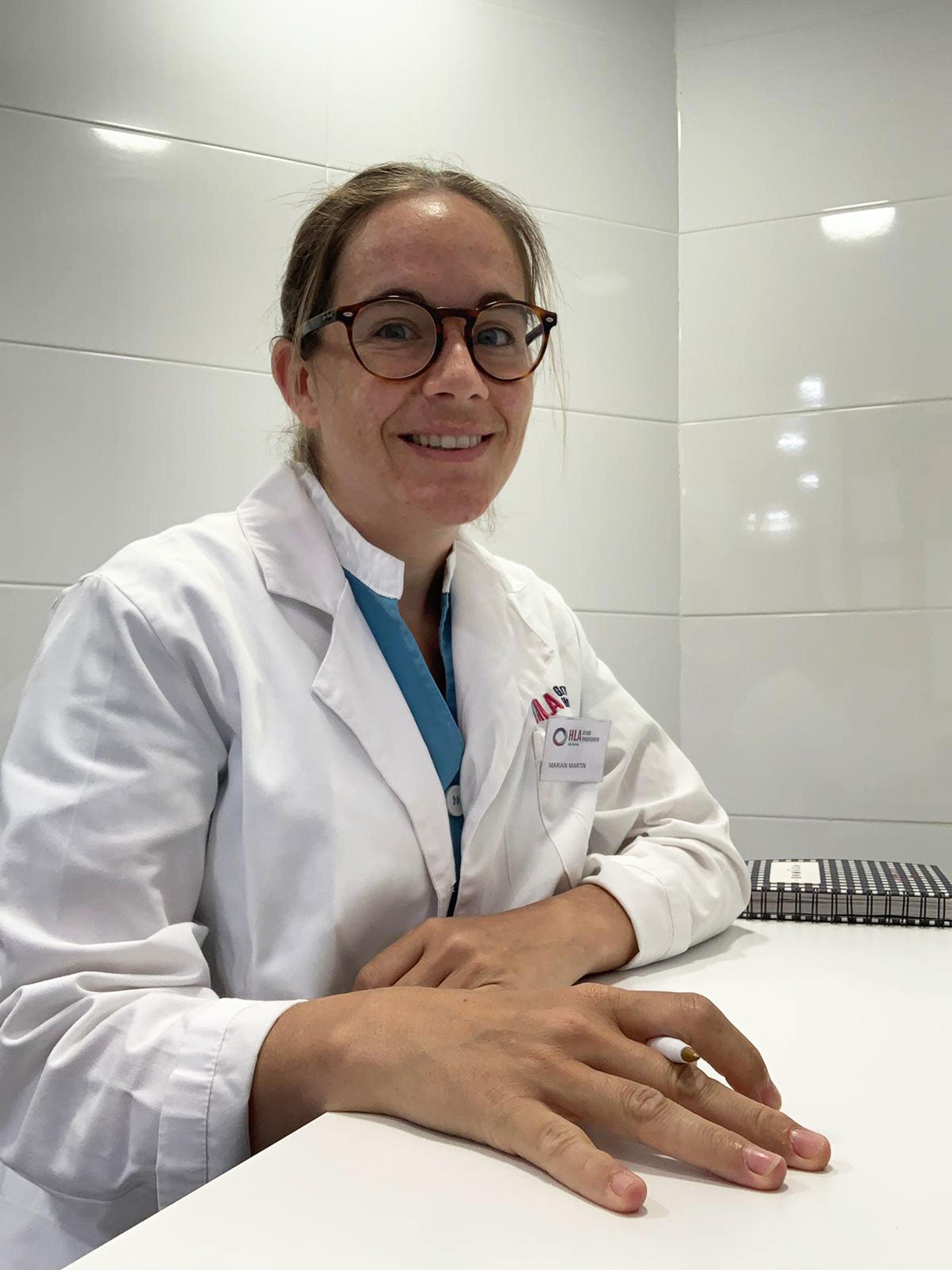 Marian Martin, nutricionista del Hospital HLA San Carlos