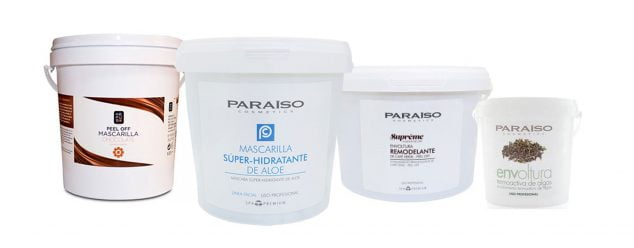 Image: Wraps and masks Paraiso Cosmetics and Kefus - Doré