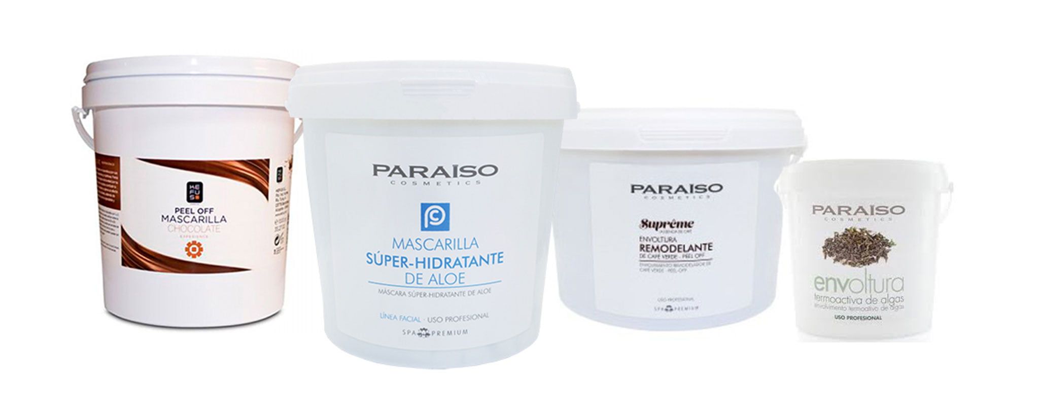 Wraps and masks Paraiso Cosmetics and Kefus - Doré
