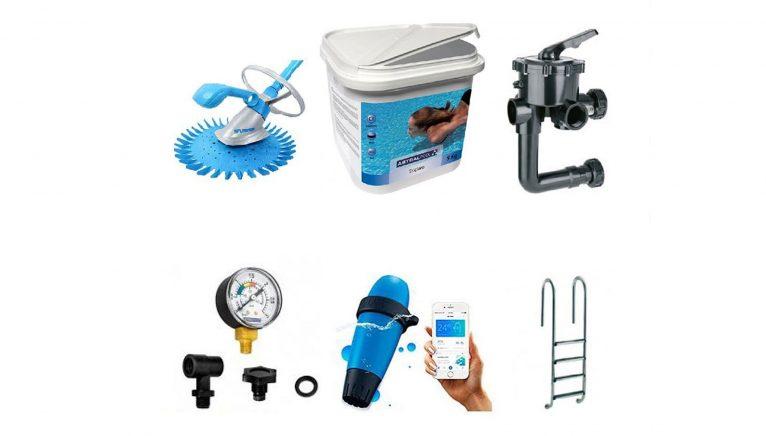 Amplia gama de productos para piscinas en Suministros Denia